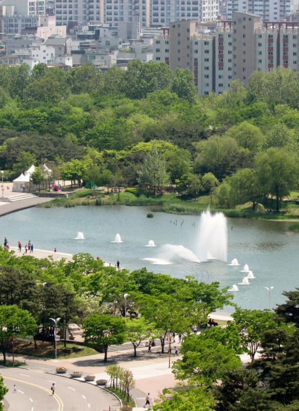 Peace Park Pond