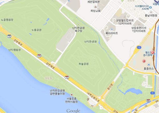 World Cup Park area