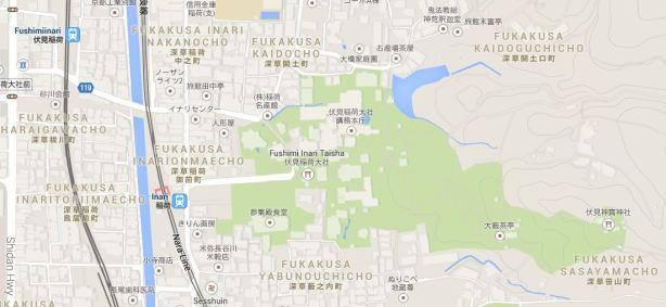 Inari Map