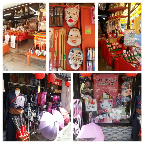 Shrine Shops